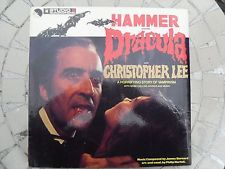 CHRISTOPHER LEE Hammer Presents DRACULA UK 1974 Studio 2 Stereo TWOA5001 Rare!!