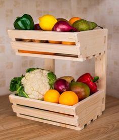 2 tier Wall mountable Wooden Vegetable fruit food storage... https://www.amazon.co.uk/dp/B00WC3IYCY/ref=cm_sw_r_pi_dp_x_kgL6xbZ5CW5HR