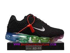 sports shoes 64be4 93b15 Nike air Vapormax 2018 Nouveau Coussin d´air Chaussures De Course Hommes  Noir vert bleu