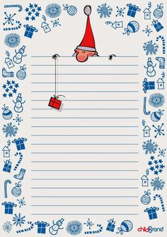Wunschzettel für Kinder – Rebel Without Applause Christmas Writing, Noel Christmas, Christmas And New Year, Christmas Crafts, Funny Illustration, Illustrations, Stationary Printable, Diy And Crafts, Paper Crafts