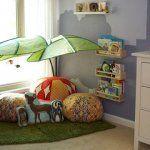 Gli spazi nella cameretta dei bambini