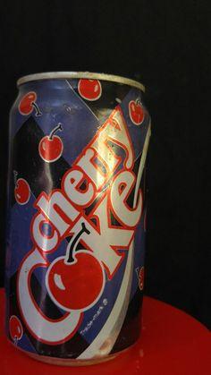 1992 Cherry Coke Can