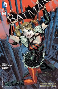 Batman: Arkham Knight Will the Clown Prince of Crime have the last laugh from beyond the grave? Find out when Harley Quinn is Batman's only hope to save Commissioner Gordon from the Joker's Last Will and Testament! Comic Book Covers, Comic Books Art, Comic Art, Book Art, Batman Arkham Knight, Im Batman, Batman Comics, Dc Comics, Batman Stuff