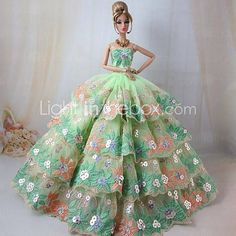 barbie impresionante vestido verde para o'hara scarlett 2594862 2016 – €12,862.00