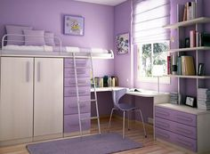 Best Teenage Bedroom Designs For Easy Doing Activities. Best Teenage Bedroom Designs comes with Minimalist Teenage Room Style Finish and Purple Chair