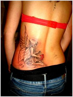 Bring Your Imagination with Fairy Tattoo Designs: Fairy Wing Tattoo Designs For Girl ~ Tattoo Design Inspiration Weird Tattoos, Mom Tattoos, Cute Tattoos, Beautiful Tattoos, Body Art Tattoos, Tattoos For Women, Tattoo Women, Tatoos, Celtic Tattoos