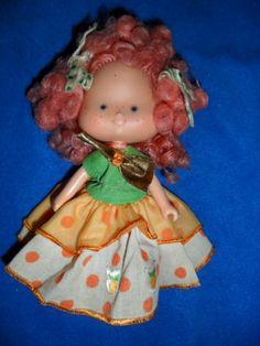 Boneca Moranguinho Laranjinha Estrela 1979 - R$ 100,00 no MercadoLivre