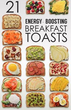 The Perfect DIY 21 Creative Breakfast Toasts