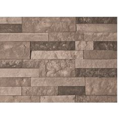 AirStone 8 sq ft Spring Creek Ledge Stone Veneer  fireplace wall? could I do this on there? this stuff is cool. no grout required.