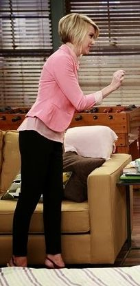 chelsea kane: pink blazer