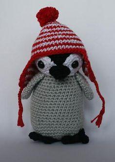 Ravelry: penguin Pip pattern by Christel Krukkert