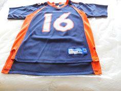 NFL Denver Broncos Jake Plummer #16 Jersey by Reebok, youth Large #Reebok #DenverBroncos