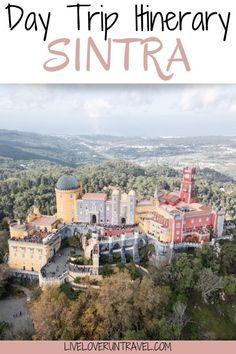 Find the perfect one day Sintra itinerary here with a free map! #sintra #portugal #lisbon #penapalace | Lisbon to Sintra | Sintra day trip | Lisbon day trip | Pena Palace Sintra | palaces in Sintra | castles in Sintra | Sintra in one day | things to do in Sintra | Sintra things to do in | Sintra photo shoot | Instagrammable places Sintra | Sintra Instagram photo spots | best day trips from Lisbon | Quinta de Regaleira | Sintra Portugal day trip | Sintra well | Sintra Instagram spots Portugal Destinations, Portugal Travel Guide, Sintra Portugal, Spain And Portugal, European Destination, European Travel, Pena Palace, Day Trips From Lisbon, Luxury Holidays