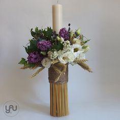 yau concept_yau flowers_yau events_aroma de liliac_botez la crowne plaza Baby Baptism, Christening, Baptism Candle, Diy Spring Wreath, All Saints Day, Church Flowers, Greek Wedding, Event Design, Flower Arrangements