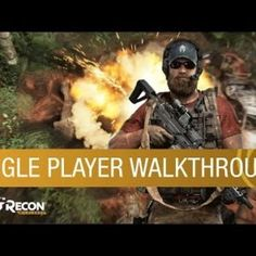 Tom Clancy's Ghost Recon Wildlands Gameplay: Single Player Walkthrough (Feat. 3 AI Teammates) Check Out The Latest Video Game Deals Here DOMINIC BUTLER: Hello everyone. My name is Dominic Butler, and I am the Lead Game Designer on Ghost Recon Wildlands. Let's jump right into the action and see our Ghosts finishing their current mission. Keep moving! Hoo-ah. See if you can find Sueno's bible around here. La Santera's supposed to be helping him write it. We got more tangos rollin' up!..