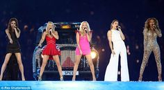 Girl power! The Spice Girls, who have have sold over 85 million records worldwide, last performed together at the Closing Ceremony of 2012 London Olympics