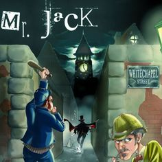 Mr. Jack, an awesome two player game, best with its expansion.