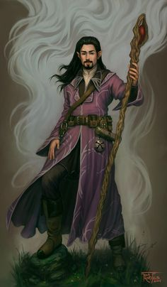 Owen the Mage II by ~NickRoblesArt on deviantART