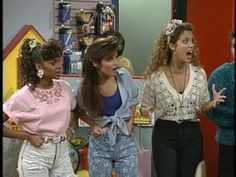 The Saved by the Bell Ladies !