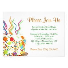 447 best candle birthday invitations images on pinterest in 2018