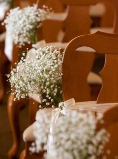 Wedding ceremony flowers, wedding aisle décor, wedding chair decor, add pic source on comment and we will update it. www.myfloweraffair.com