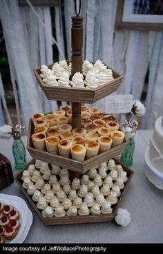 cute mini dessert table