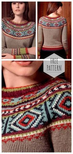 Knitting pullover Lope Pape Persia