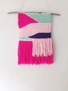 eloise / hand woven wall hanging by TheLittleAvocado on Etsy