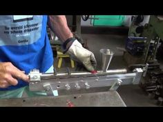 How to make plastic washers from recycled HDPE for the rope pump. - YouTube