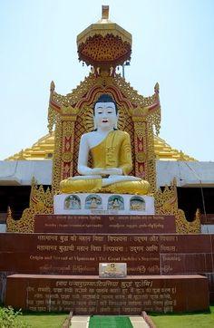 The Buddha statue at the Pagoda