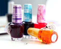 Sheer Tints by OPI •Nail Art Tutorial by @Pshiiit