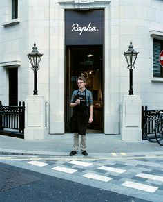 Rapha Cafe in Soho, London