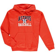Houston Astros Soft as a Grape Youth Pullover Hoodie - Orange - $26.39