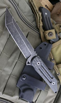 Heretic Knives 003 Kwaiback Tactical Combat Fixed Blade Knife