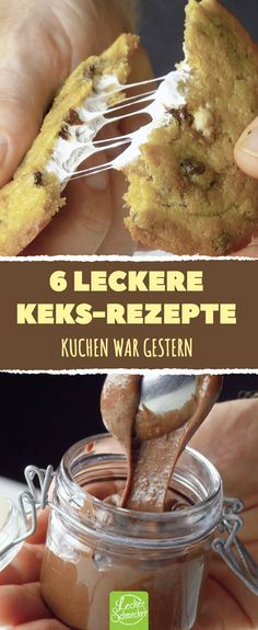 to whip up 6 leckere Keks-Rezepte. Cookie Recipes, Snack Recipes, Dessert Recipes, Tasty Biscuit Recipe, Fall Desserts, Delicious Desserts, Easy Smoothie Recipes, Pumpkin Spice Cupcakes, Coconut Recipes