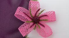 Hiç Bi yerde görmediğiniz iğne oyası başörtü modeli - YouTube Crochet Motifs, Filet Crochet, Types Of Embroidery, Beaded Embroidery, Crochet Flowers, Fabric Flowers, Helly Hansen, Viking Tattoo Design, Sunflower Tattoo Design