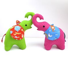 """Elefant - Free """"Trunk Up"""" Elephant Pattern 