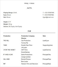 Inspiring Theatrical Resume Template Pictures word template resume free resume template microsoft word Theatrical Resume Template. Here is Inspiring Theatrical Resume Template Pictures for you. √ The General Format And Tips For The Theatre Resume Templa... Acting Resume Template, Teacher Resume Template, Resume Design Template, Cv Template, Resume Templates, Templates Free, Resume Format, Basic Resume, Simple Resume