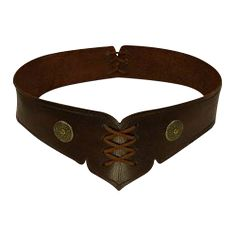 Gerlinta Leather Belt - MCI-327 by Your Dressmaker, Custom Medieval Clothing