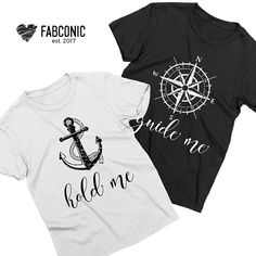 Couples shirts, Guide me Hold me shirts, Matching couples shirts Couples t-shirts, Matching shirts for couples, Couples matching shirts Give these t-shirts as a thoughtful gift. Make some awesome photos. Be fabulous. Be iconic. Youll love it! Your partner will love it.