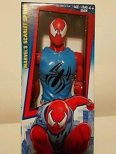 ec4776b98c96 Scarlet Spider Marvel Titan Hero Series 12