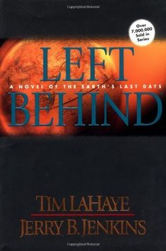 Left Behind, by Tim LaHaye and Jerry Jenkins - (Book l of 3) this series of controversial end-time prophesy books,  even though fiction, they are based on the Book of Revelation in the Bible, and the rapture many Christians feel will take place. Interesting, chilling and recommend!