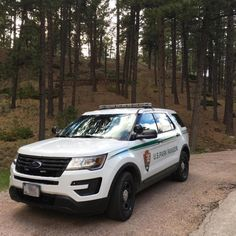U.S. Park Ranger Ford Interceptor SUV