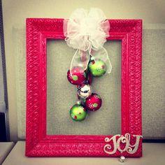 Christmas wreath | #christmas #craft #wreath #diy