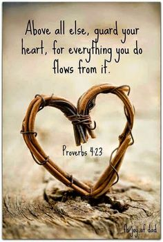 Bible quote: Guard your heart . bible quotes Free eBook: Cultivating a Heart for Motherhood The Words, Quotes To Live By, Me Quotes, Gospel Quotes, Wall Quotes, Quotes From The Bible, Famous Quotes, Thin Quotes, Biblical Quotes