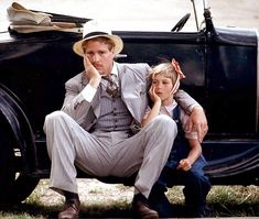 """Ryan O'Neal and Tatum O'Neal in """"Paper Moon"""" (1973) Tatum O'Neal - Best Supporting Actress Oscar 1973"""