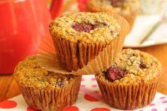 Receta Fitness: Muffins de frambuesa y avena | Bulevip Blog