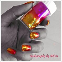 Transfer foil by Nailography from Nail Art Gallery