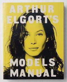 Christy Turlington covers Arthur Elgort's Models Manual | Release 1992 | Cover Designer/ Art Director Steve Hiett | sobooks.jp