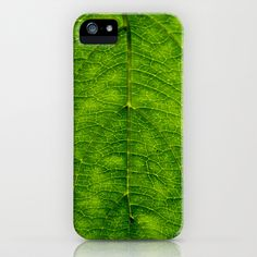 Leaf Green iPhone & iPod Case by Jinzha Bloodrose - $35.00